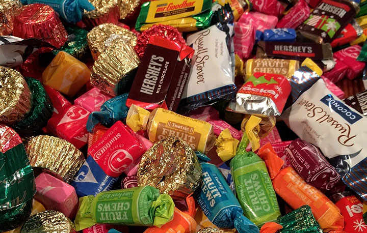 pile of assorted candy